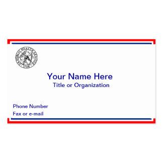 Public Health Service Business Cards