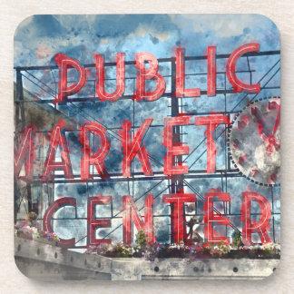 Public Market Center in Seattle Washington Coasters