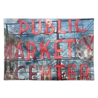 Public Market Center in Seattle Washington Placemat