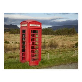 Public Phone Box, Ellishadder, near Staffin, Postcard