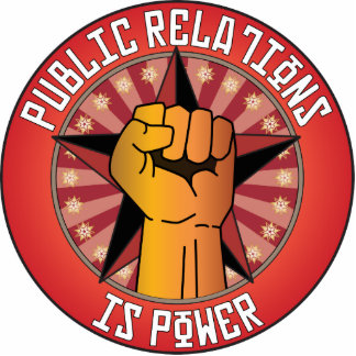 Public Relations Is Power Photo Cutouts