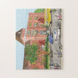 Public School 104 in Brooklyn Jigsaw Puzzle