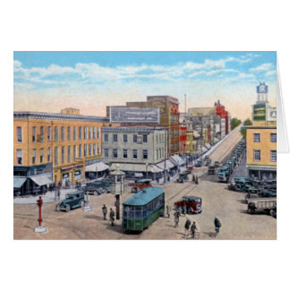 Public Square at Hagerstown Maryland Card