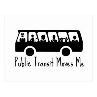Public Transit Protest Postcard
