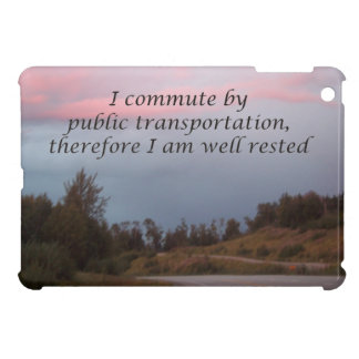 public transportation iPad mini cover