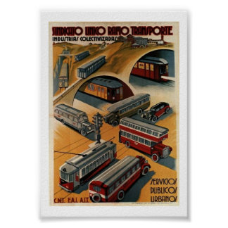 Public Transportation Union Poster