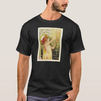 Publicité française vintage d'absinthe t-shirt