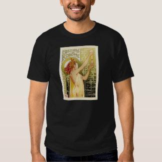 Publicité française vintage d'absinthe tshirts