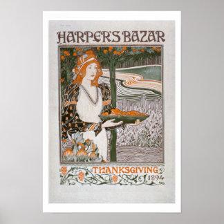 Publicité pour l'édition de thanksgiving de 'Har