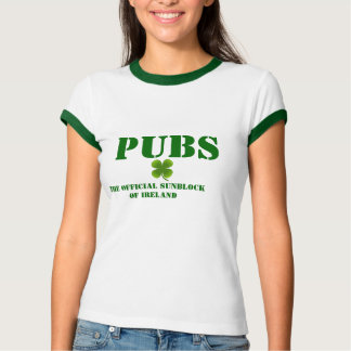PUBS the Official Sunblock of Ireland Women's T T-Shirt
