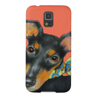 Pucci Scarf Manchester Terrier Galaxy S5 Covers