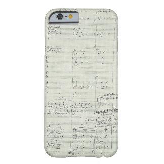 Puccini Opera La Bohème Music Manuscript Excerpt Barely There iPhone 6 Case