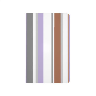 Puce Stripes Journal | Awnings Collection
