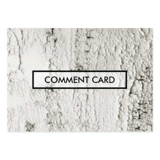 puces peintes par carte de commentaire carte de visite grand format