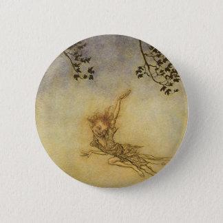 Puck, A Sprite by Arthur Rackham 2 Inch Round Button