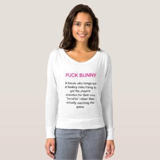 Puck  Bunny Description T-shirt