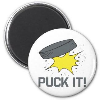 Puck It 2 Inch Round Magnet