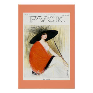 Puck Magazine Cover 1912 Poster