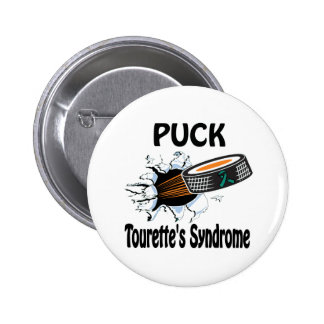 Puck The Causes Tourette'S Syndrome Button