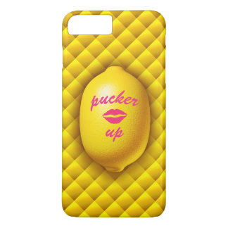 Pucker Up Lemon iPhone 7 iPhone 8 Plus/7 Plus Case