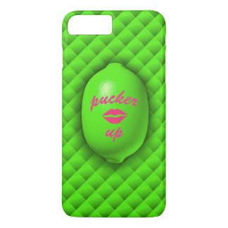 Pucker Up Lime iPhone 7 iPhone 8 Plus/7 Plus Case