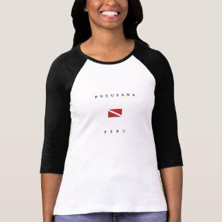 Pucusana Peru Scuba Dive Flag T-Shirt