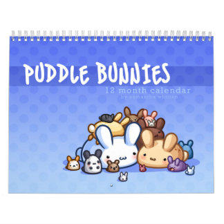Puddle Bunnies Calendar