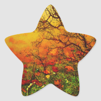 Puddle Paradise Star Sticker