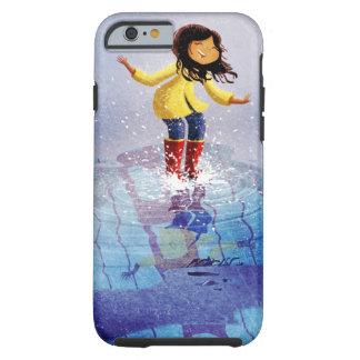 Puddle Pounce Tough iPhone 6 Case