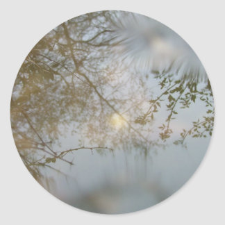 Puddle Round Sticker