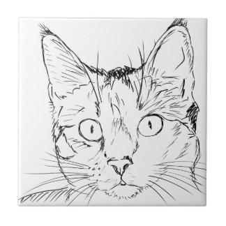 Puddy Cat Ceramic Tiles
