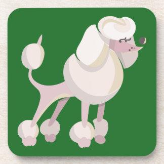 Pudel Hund poodle dog Coaster