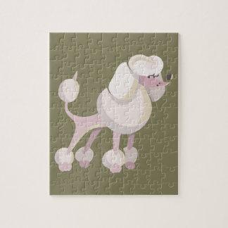 Pudel Hund poodle dog Jigsaw Puzzle