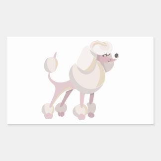 Pudel Hund poodle dog Sticker