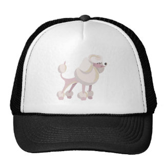 Pudel Hund poodle dog Trucker Hat