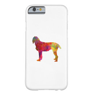 Pudelpointer in watercolor barely there iPhone 6 case