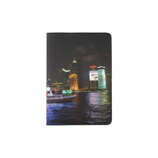 Pudong Skyline Passport Holder