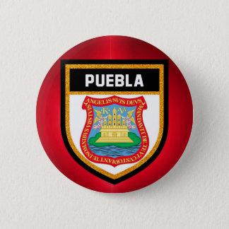 Puebla Flag 2 Inch Round Button
