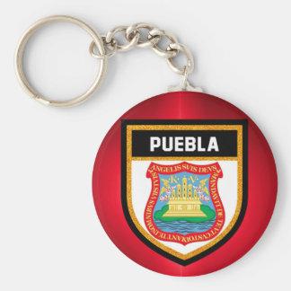 Puebla Flag Keychain