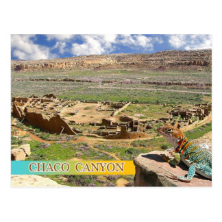 Pueblo Bonito, Chaco Canyon, New Mexico Postcard