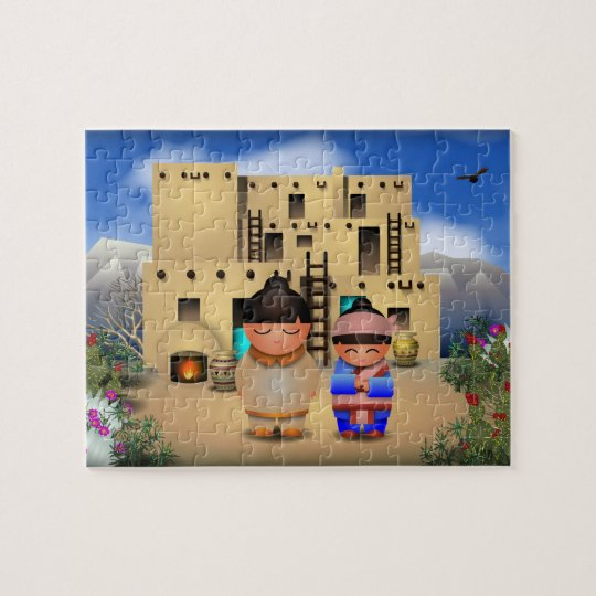 Pueblo Jigsaw Puzzle