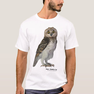 Pueo, the Hawaiian Owl T-Shirt