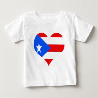 puerot rican heart baby T-Shirt