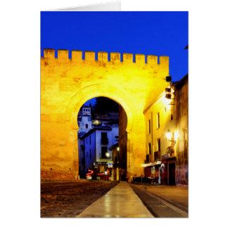 Puerta de Elvira Card