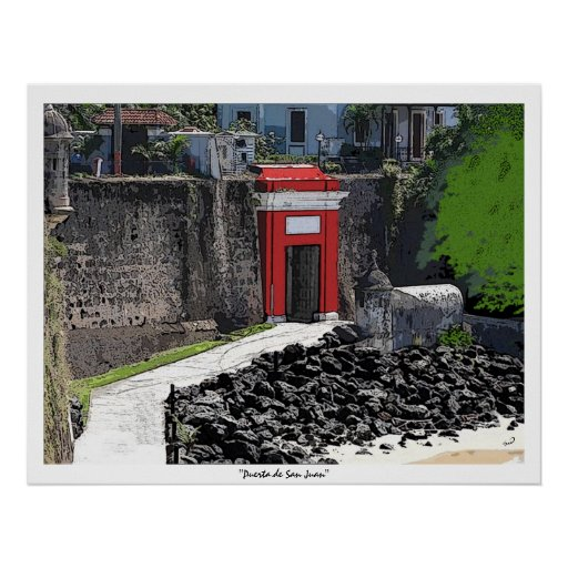 Puerta de San Juan Print