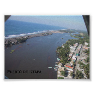 Puerto de Iztapa Poster