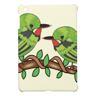 Puerto Rican bird love art iPad Mini Case