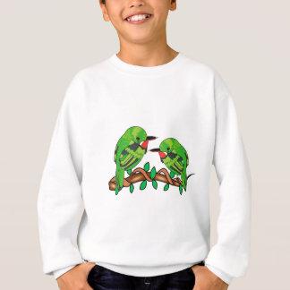 Puerto Rican bird love art Sweatshirt