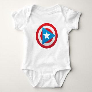 Puerto Rican Captain Baby Baby Bodysuit