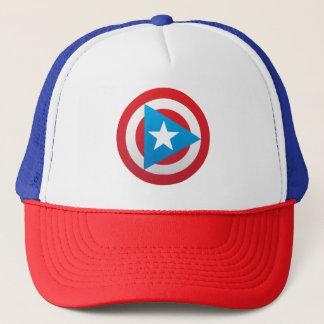 Puerto Rican Captain Trucker Hat